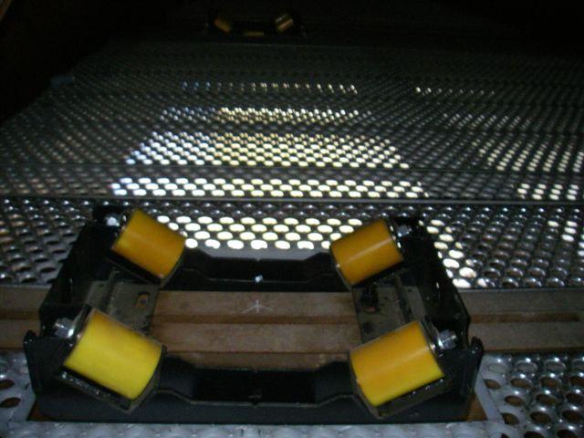 i beam roller for bridge installation
