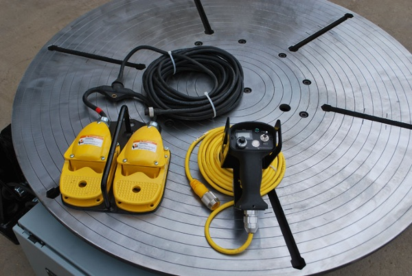 used low profile welding turntable (floor turntable) for sale