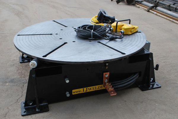used low profile welding turntable (floor turntable) for sale