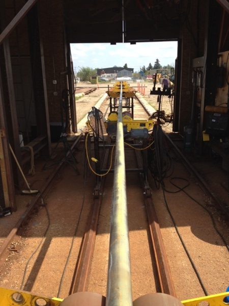 Used 4-Ton Pipe Roll Stands(pipe stand rollers) For Sale