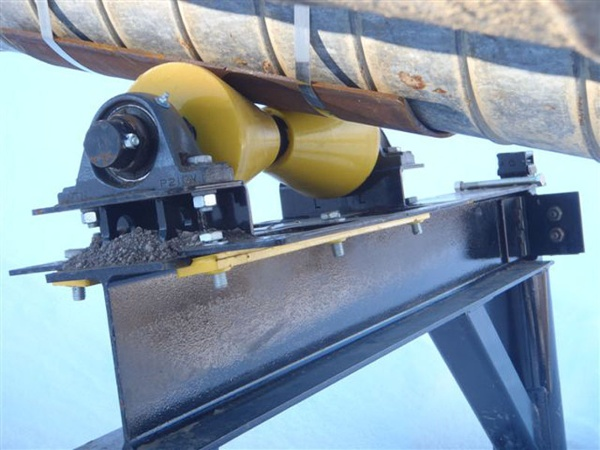 1 Ton Unidirectional I Beam Pipe Rigging Rollers Hz6 200