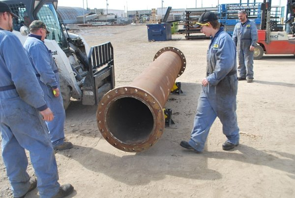 pipe roller supports for pipeline installs