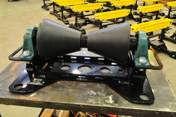 LJ pipeline rollers supports with 1-ton load capacity