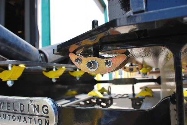 beam clamp pipe rigging rollers for sale (lj welding automation)