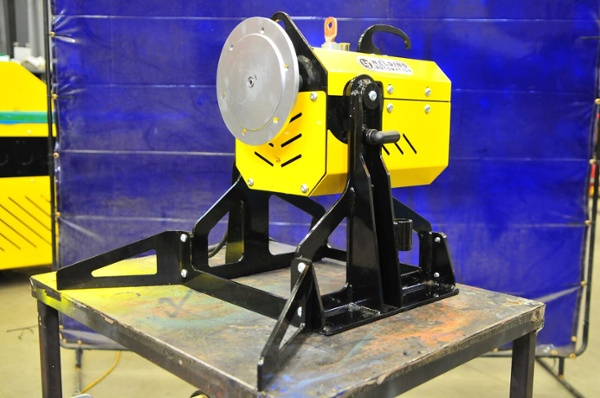 benchtop pipe welding positioner