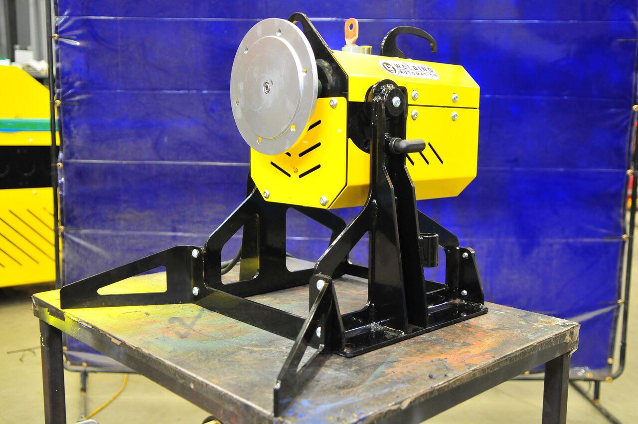 benchtop pipe welding positioner