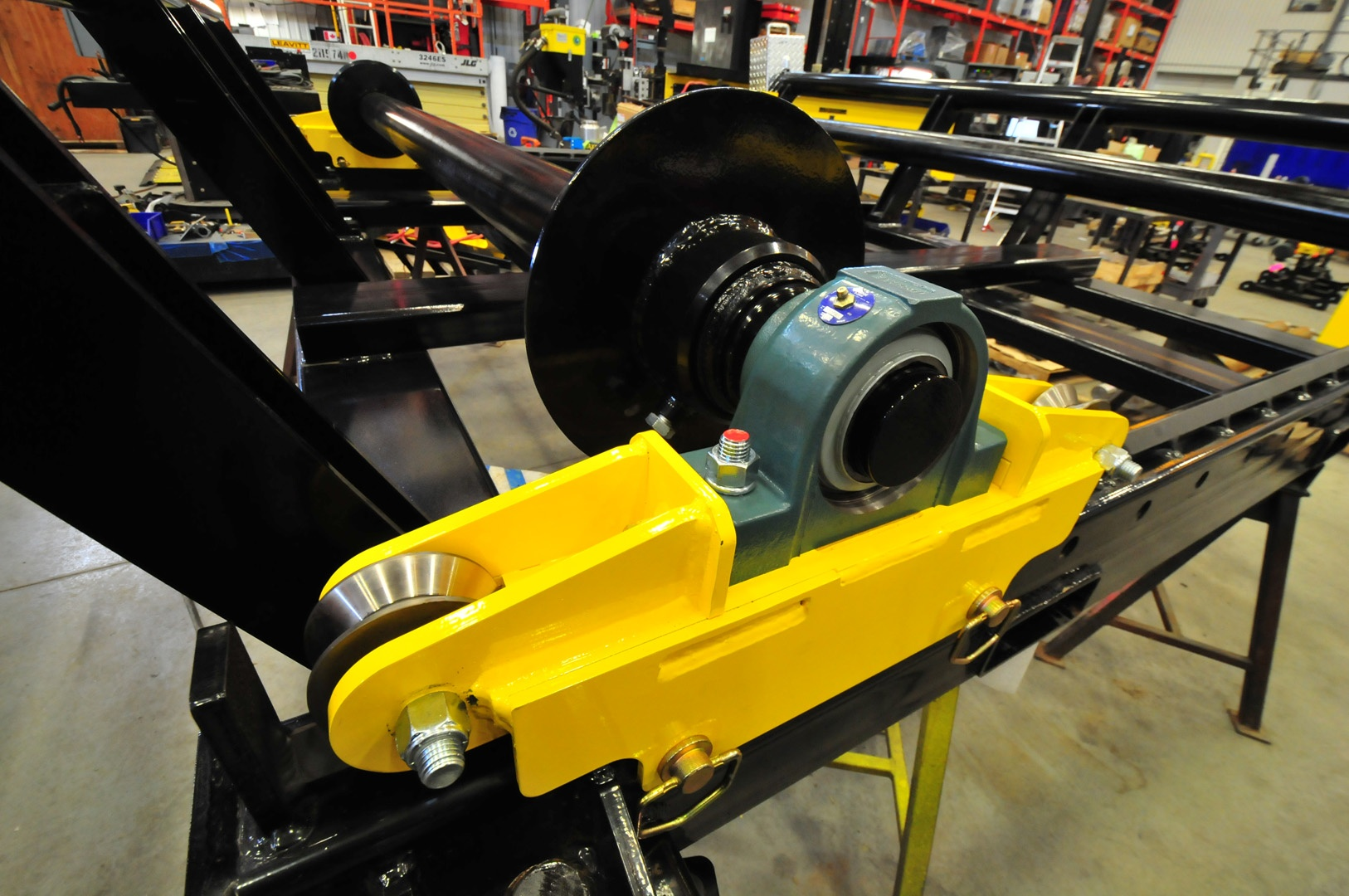heavy duty cable drum reel rollers