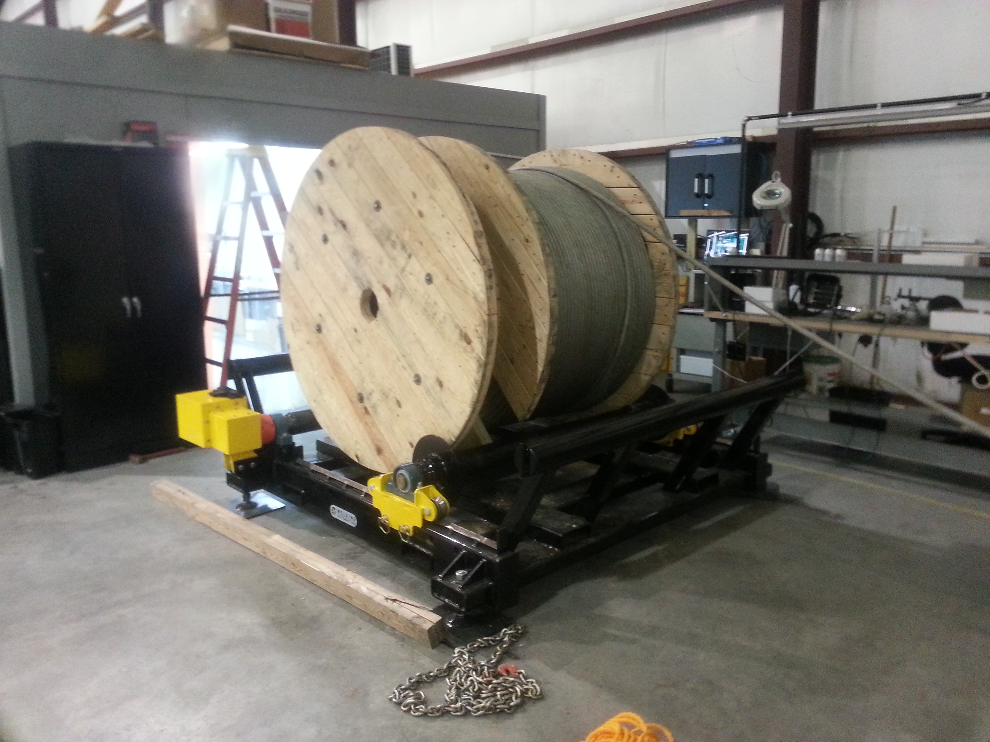 cable drum reel rollers for sale