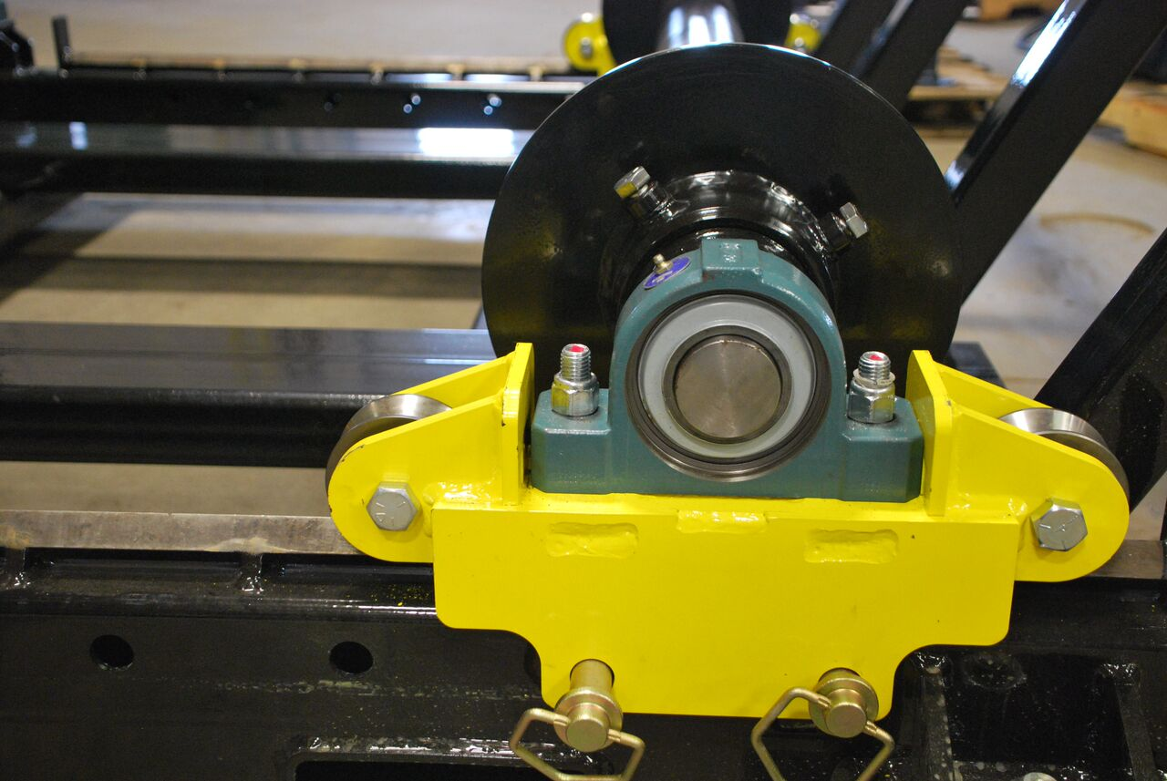 cable reel roller for payout
