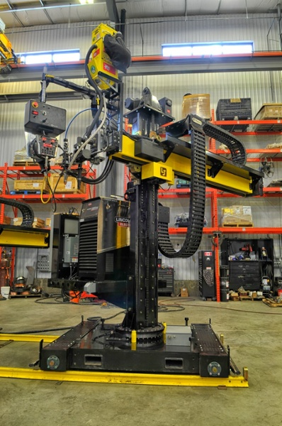 column and boom welding manipulator sale