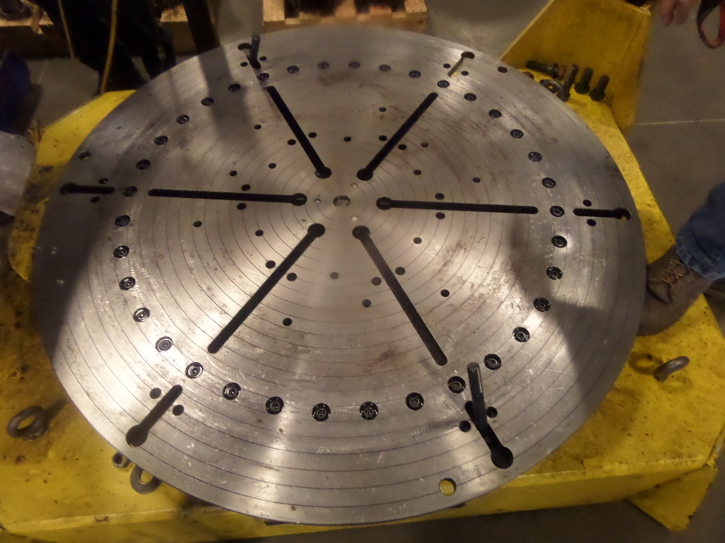 30-Ton Low Profile Welding Turntable (floor turntable)