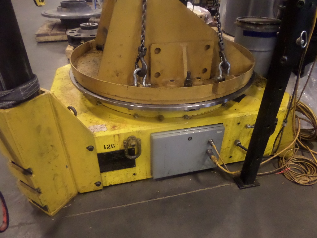 30-Ton Low Profile Welding Turntable Floor Turntable (Welding turntable)