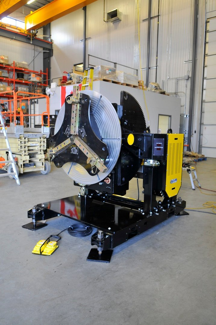 gear tilt welding positioner 12000 lbs capacity for sale