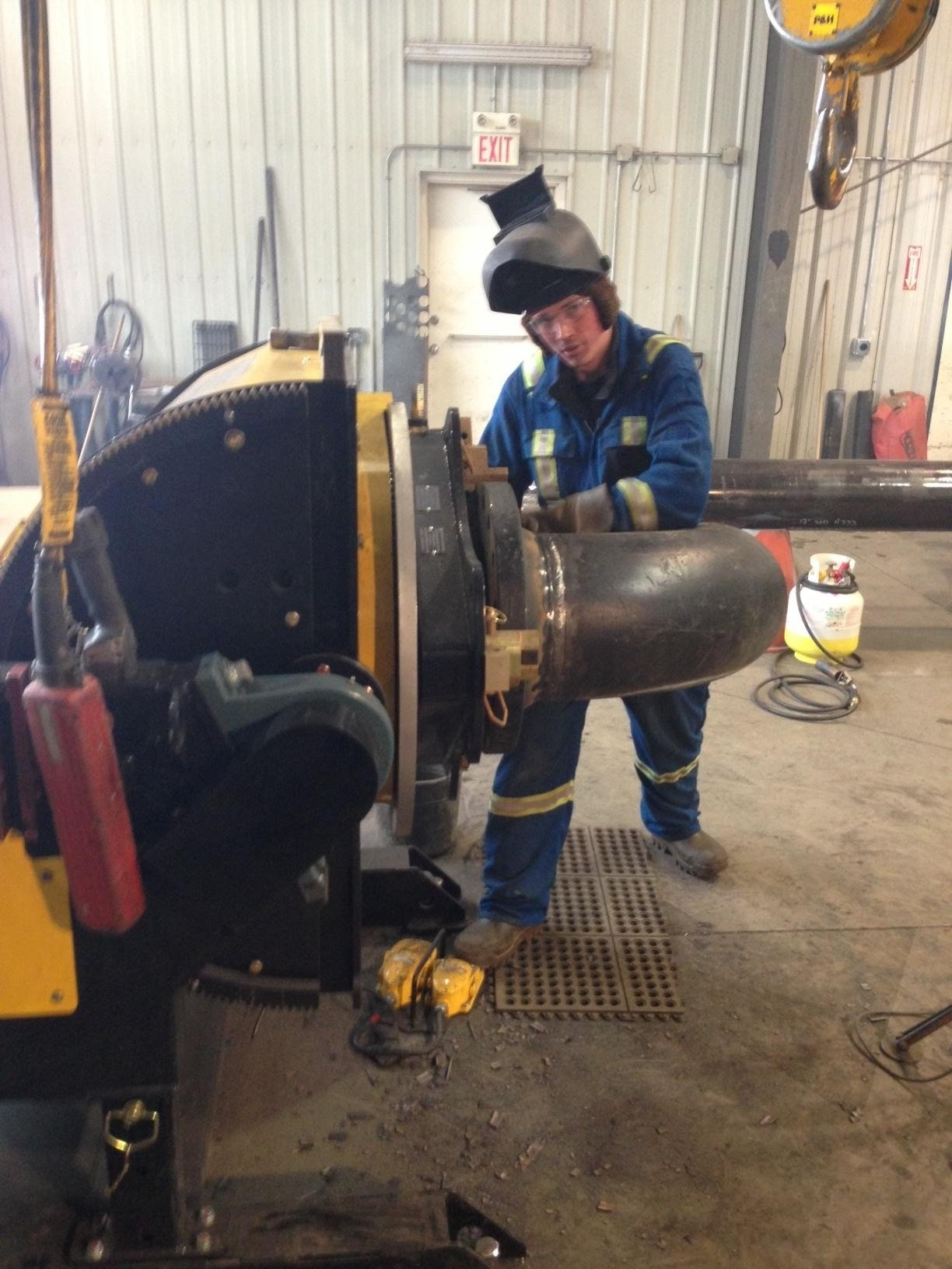 gear tilt welding positioner rental available