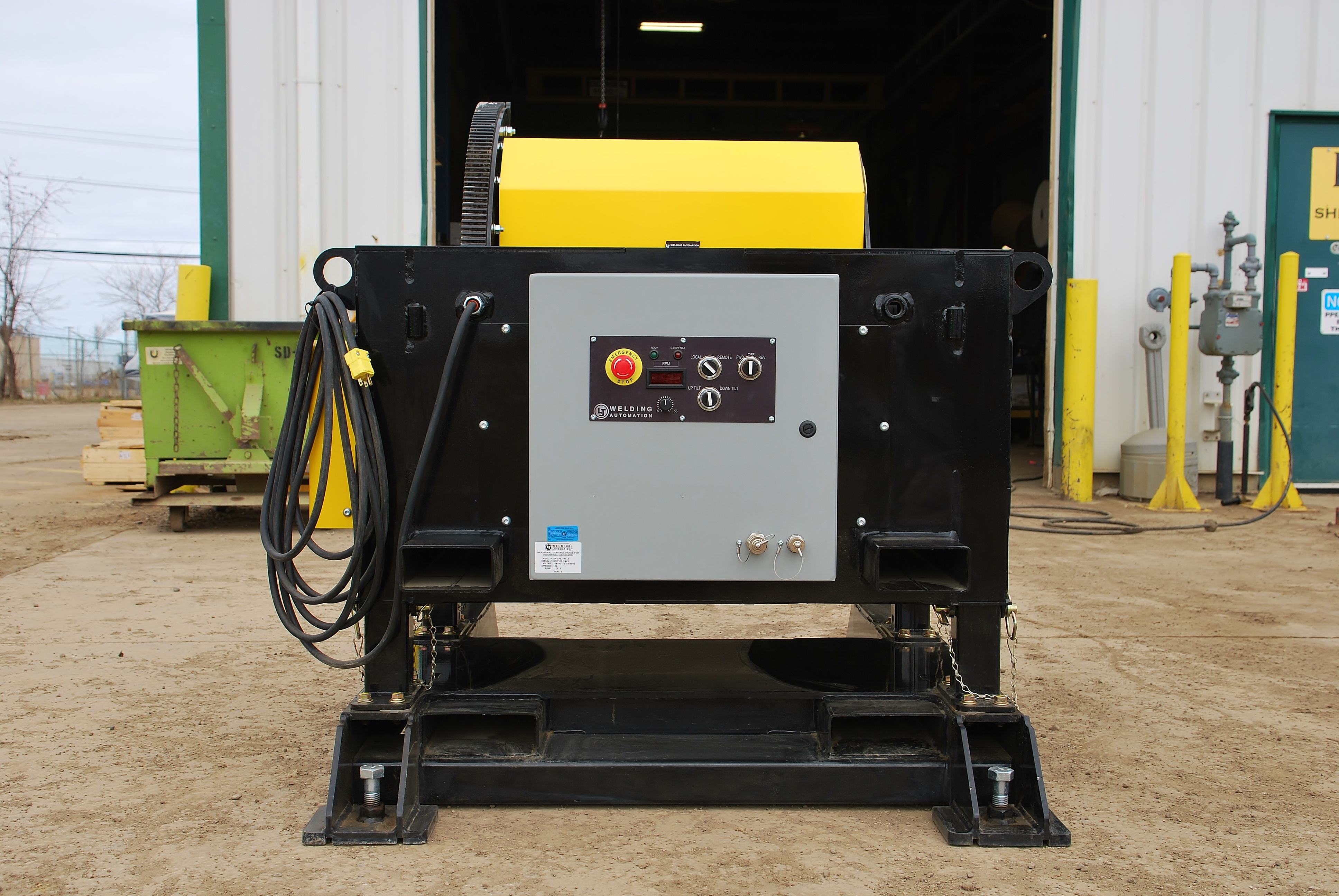 gear tilt welding positioners sales