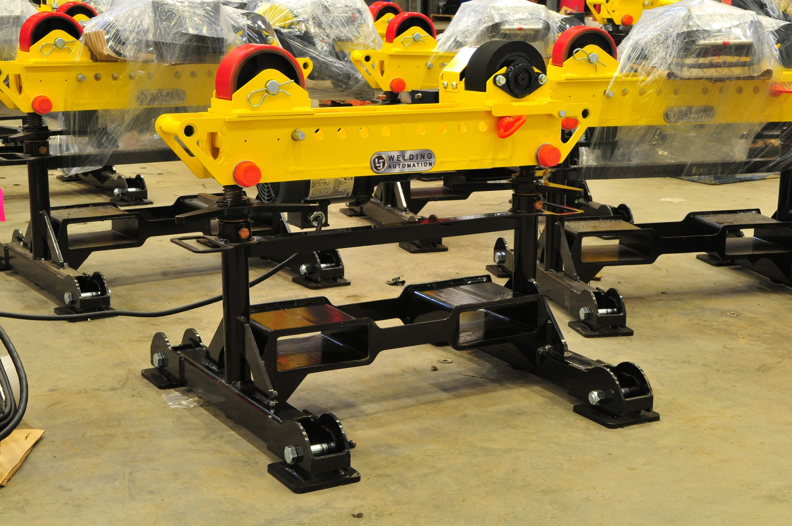 2-ton pipe rollers driver for welding