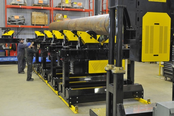 pipe welding positioner for heavy duty applications.