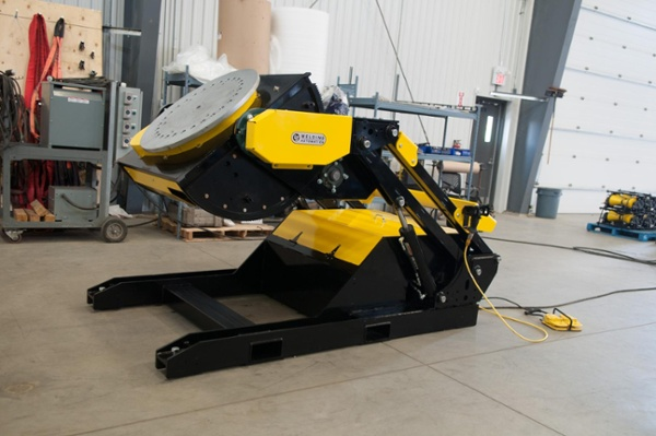 hydraulic tilting weld positioners