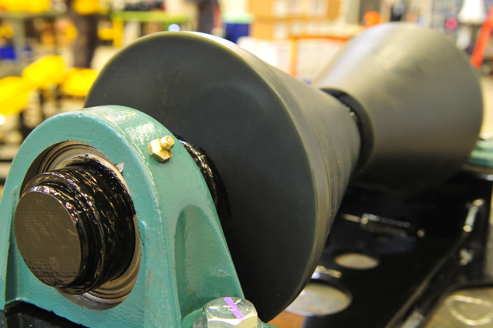 pipeline roller supports with 1-ton load capacity