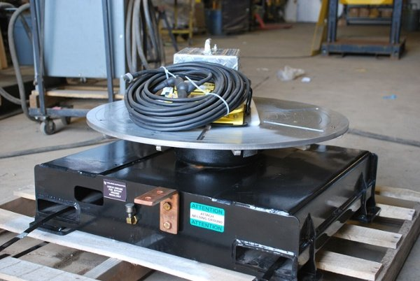 low profile floor turntable