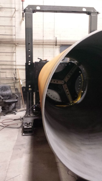 pipe welding positioner with 24000 lbs capacity