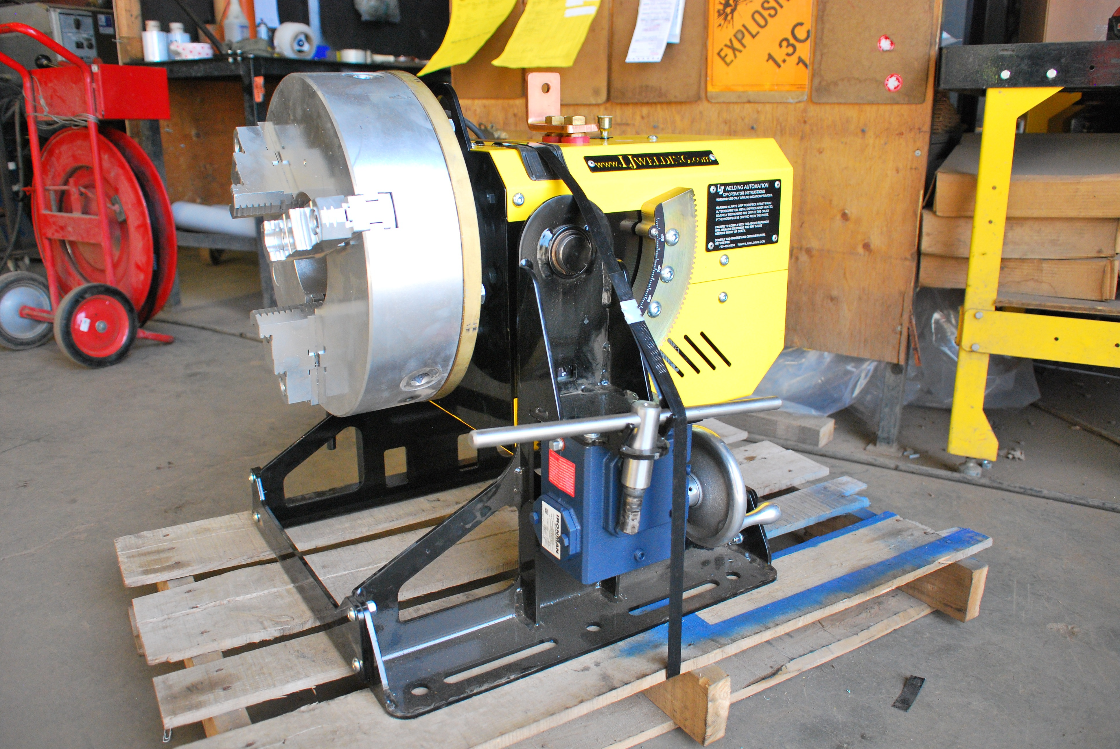 "Pipe Welding Positioners: 12"" Portable"