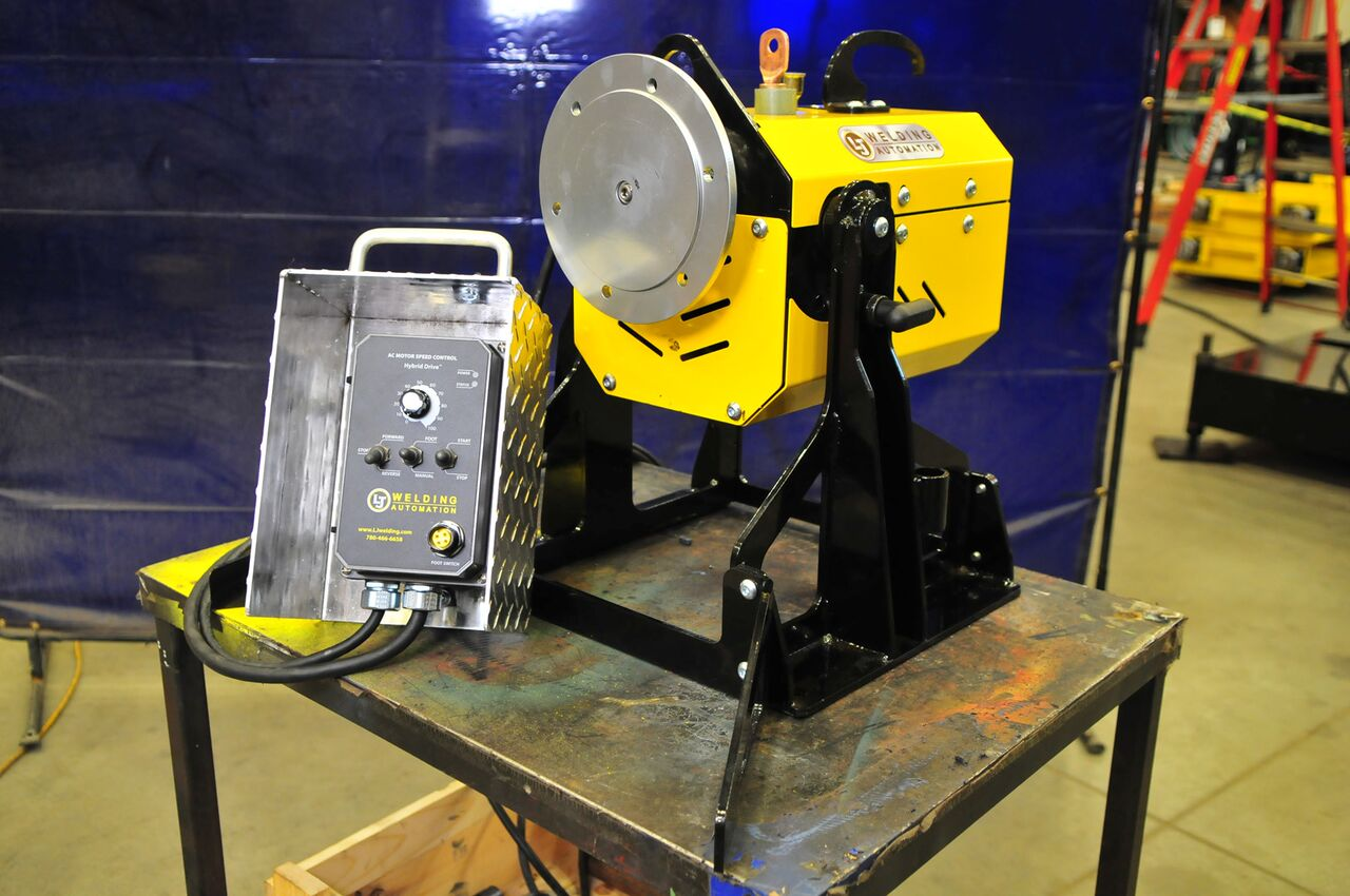pipe welding positioner