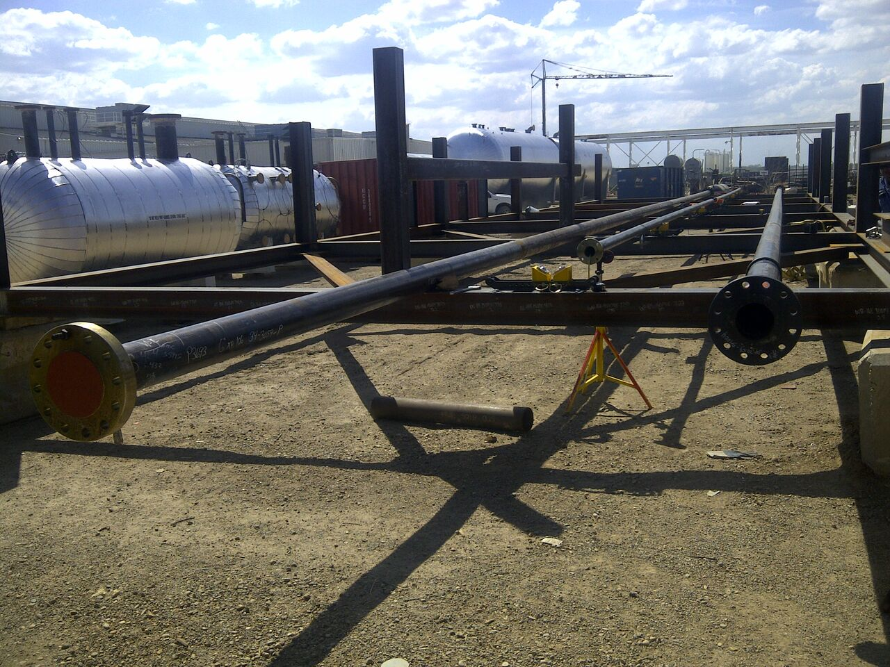 multi-directional pipe rigging rollers