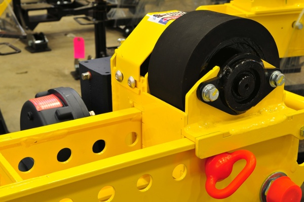 welding pipe rollers with 2-ton load capacity