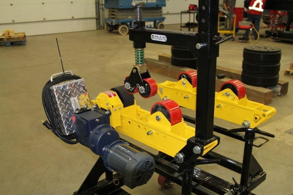 pipe roller stands cart for sale