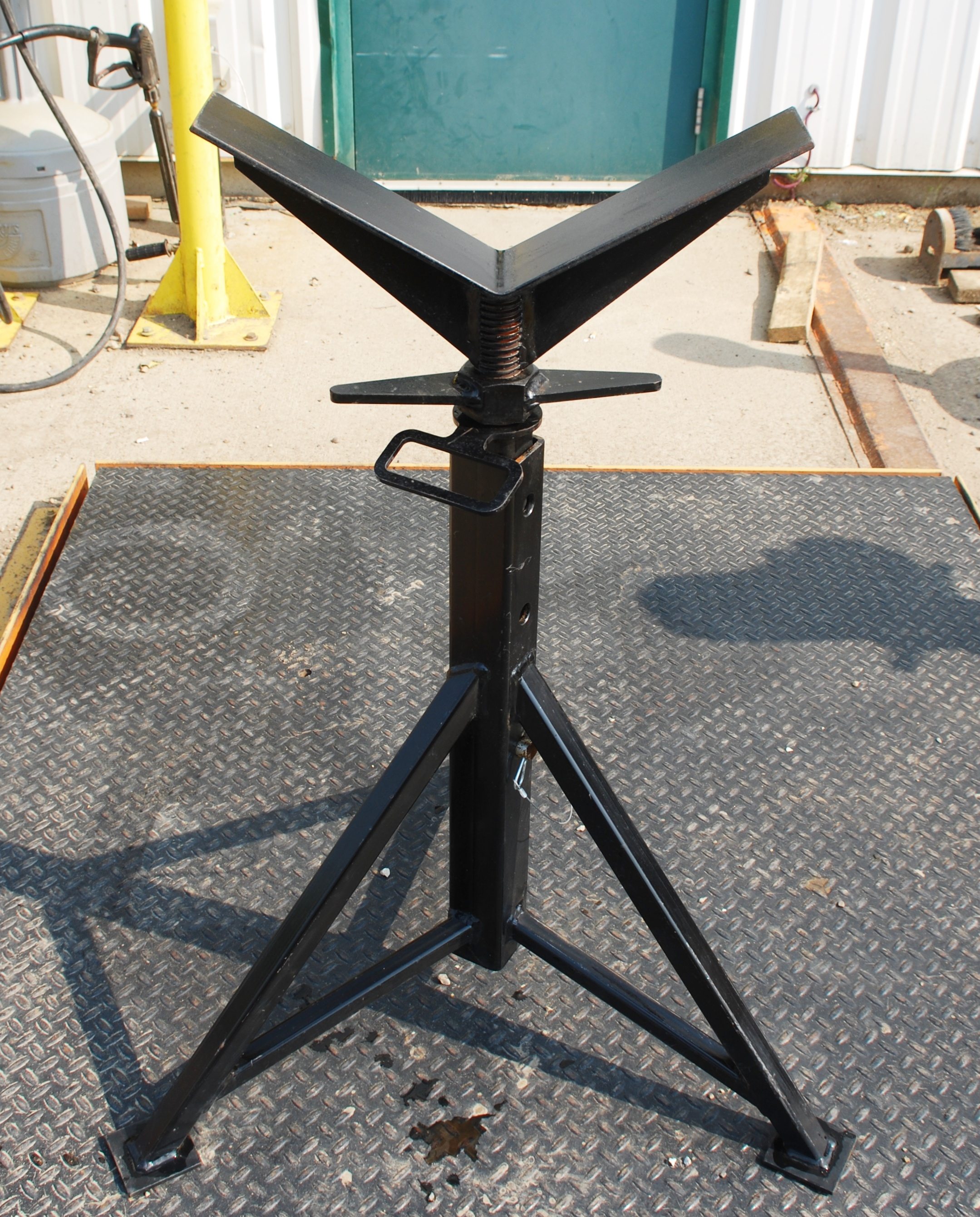 stand for pipe welding