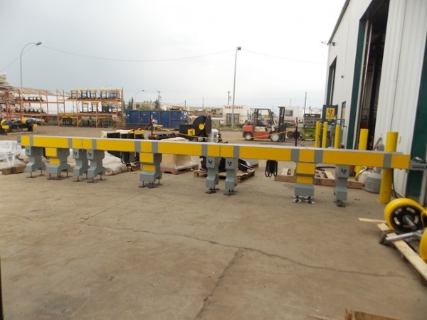 light duty pipe conveyor system