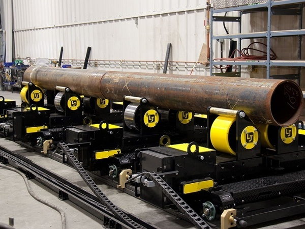 pipe double joining turning roll welding system