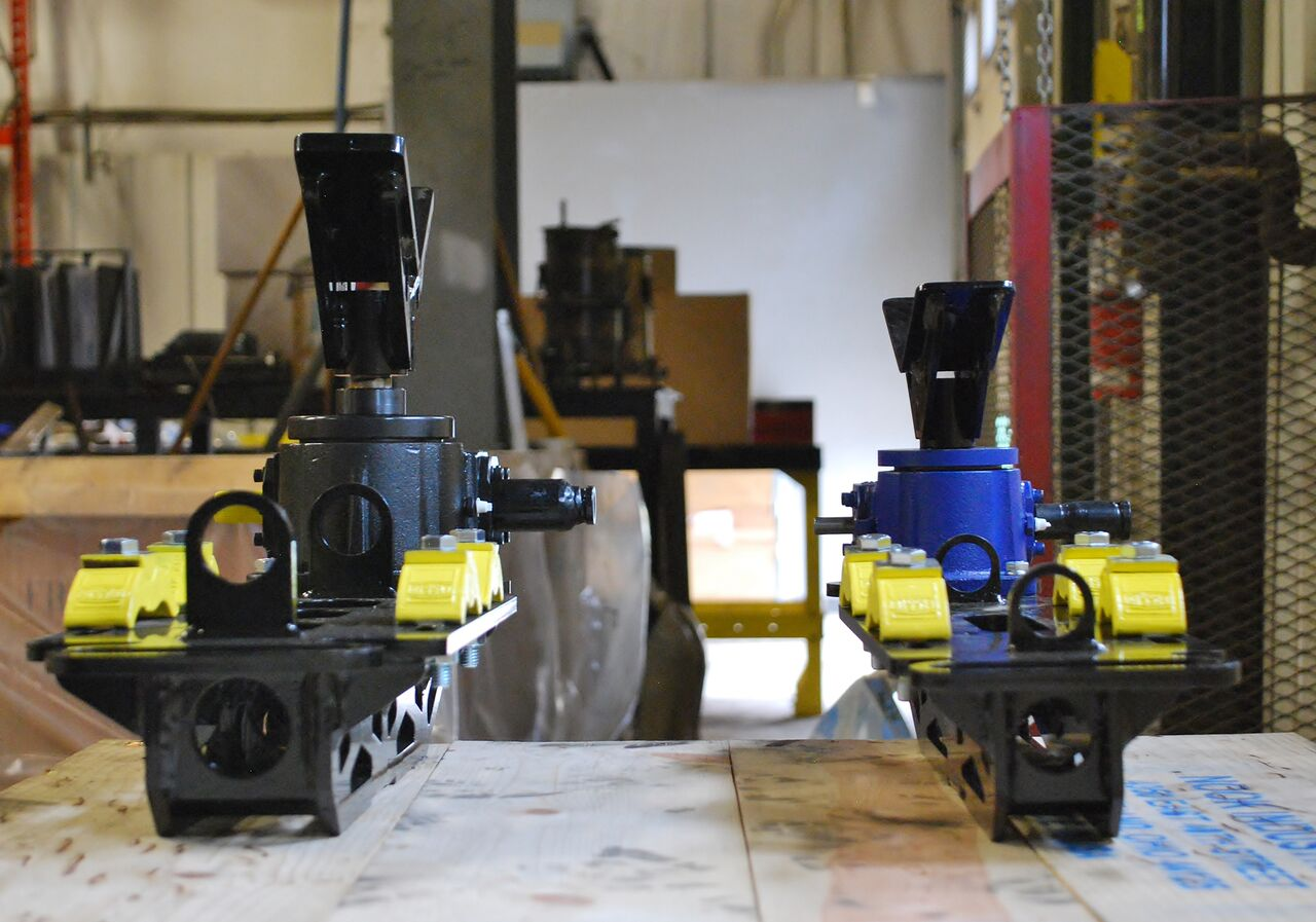 pipe rigging jacks for rack installation