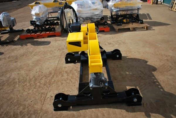 pipe roller stands with geared height adjust for sale
