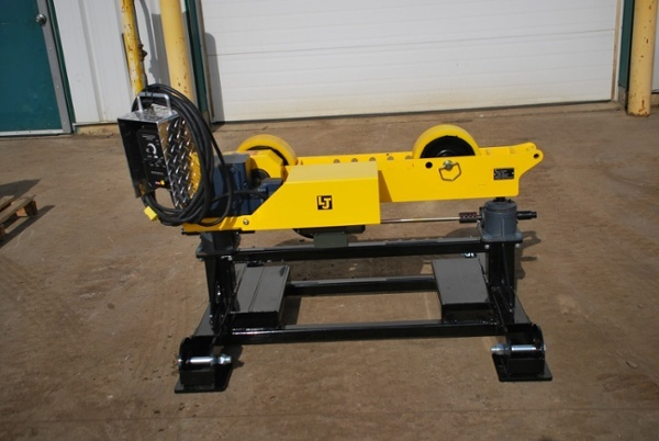 geared height adjust pipe roller stands for sale