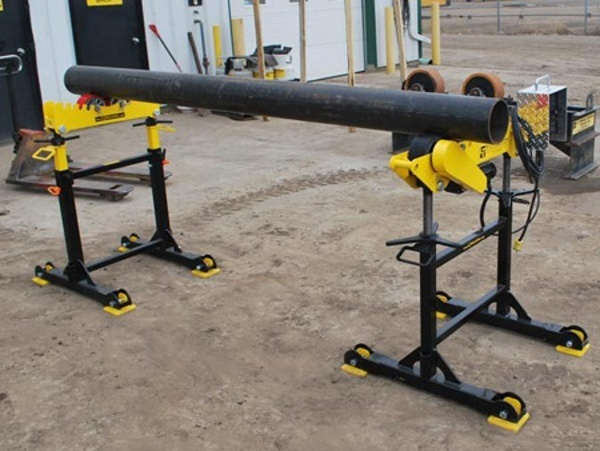pipe stands (roller supports)