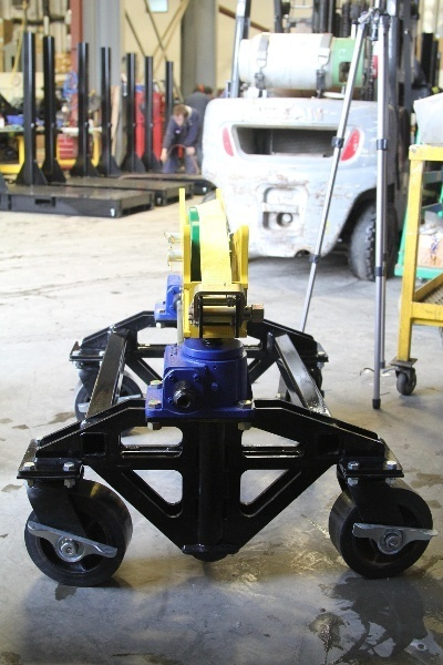 heavy-duty pipe roller support stands