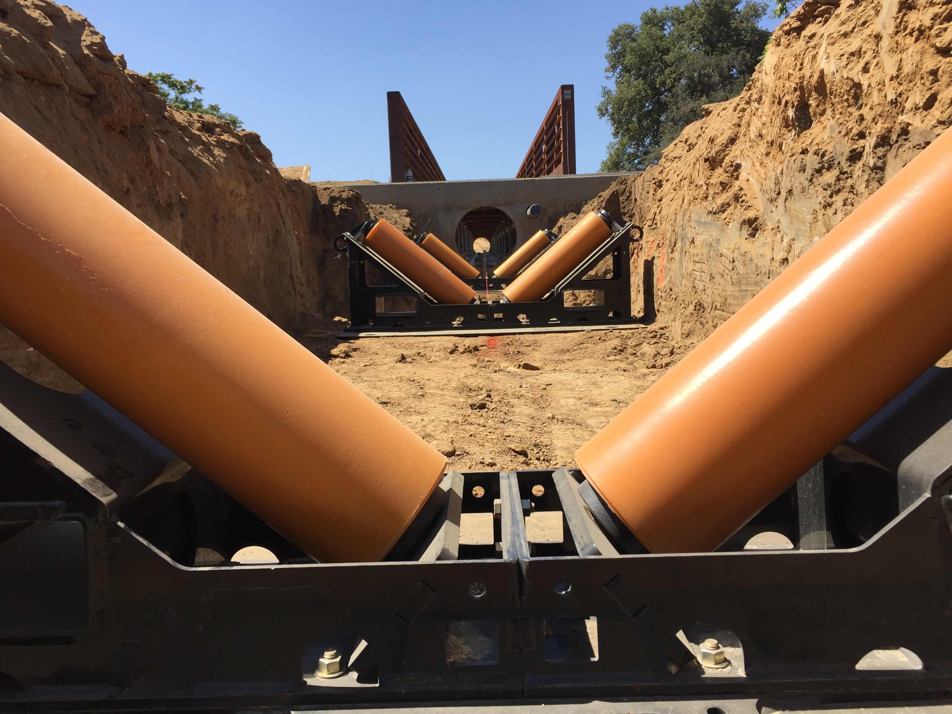 5-Ton Pipeline Rollers (Pipe Rollers or Pipe Roller Supports