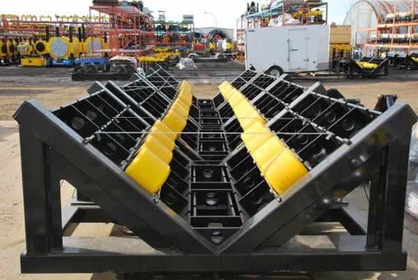 40-ton capacity pipeline rollers for sale