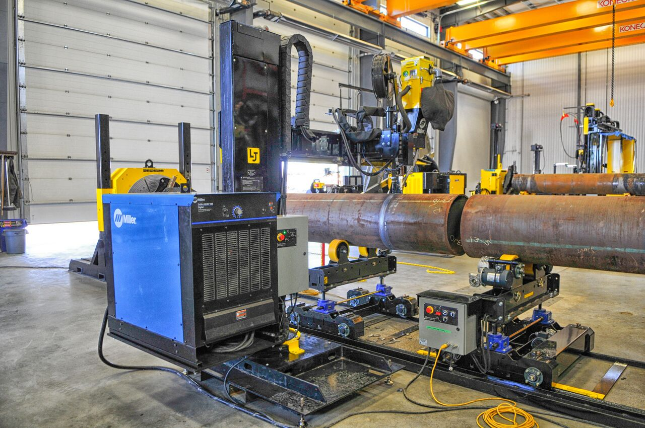 CaB welding manipulator power source options