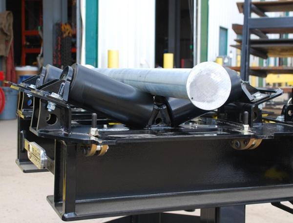 pipe rack rigging rollers