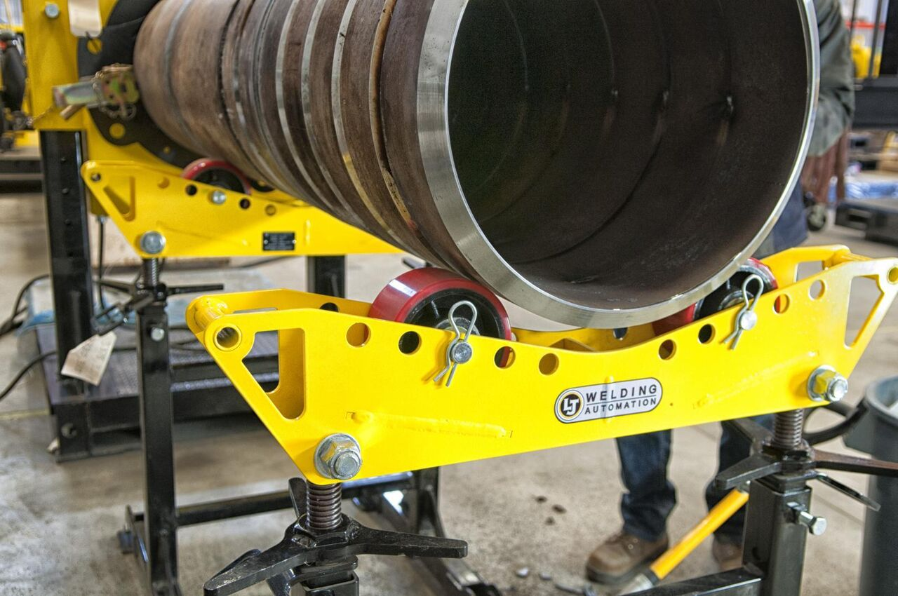 pipe roller support stands for welding