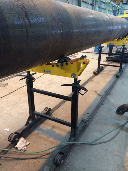 welding roller pipe stands