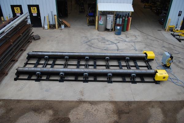 modular tank fit up rolls