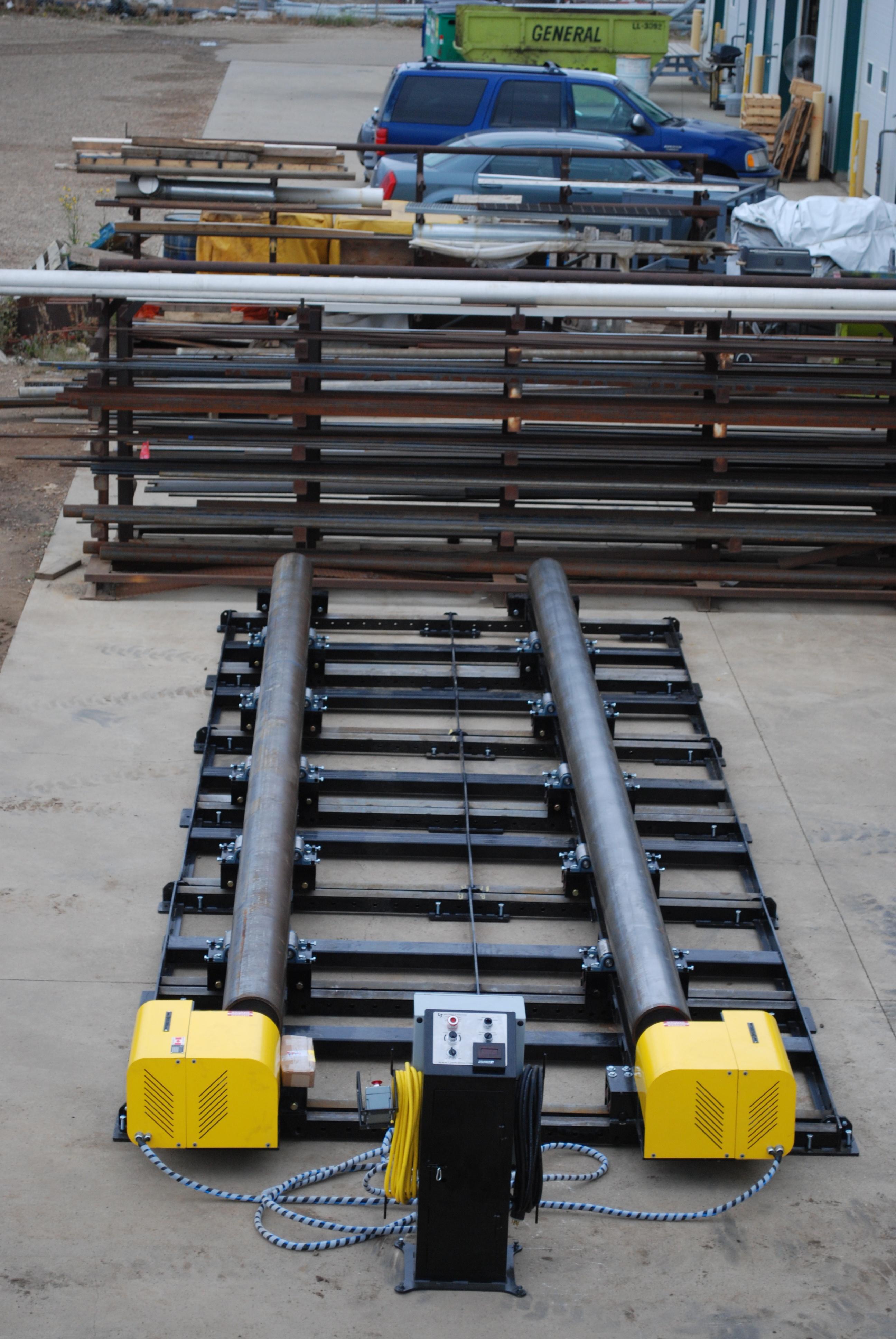 modular vessel fit up roll
