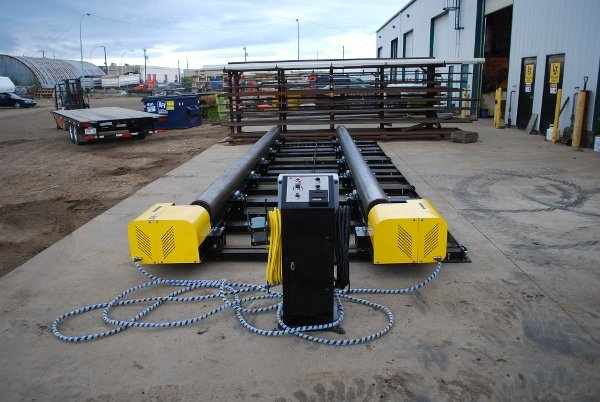 modular vessel fit up rolls