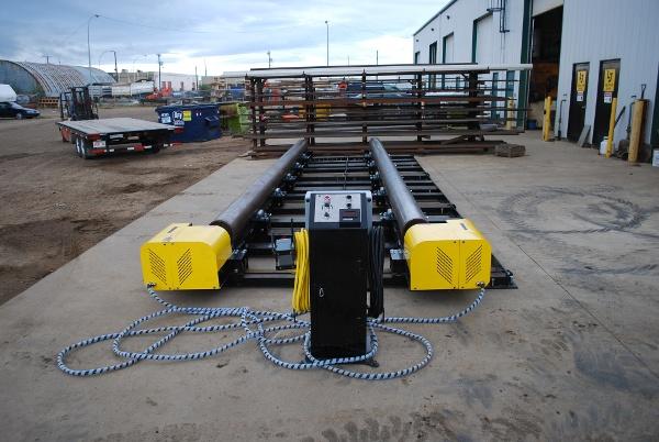 modular vessel fit up rolls