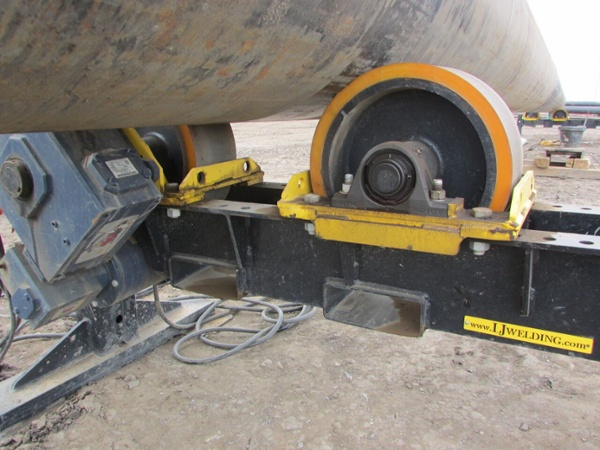 12 ton vessel turning rolls