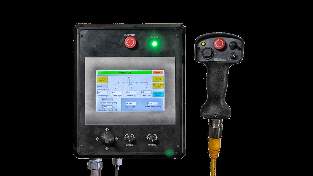 weld weaver oscillator system